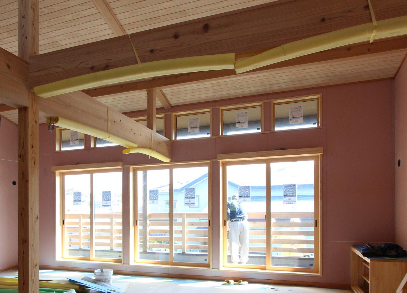 栄町公園の家:木工事が終わる。_e0054299_16111511.jpg