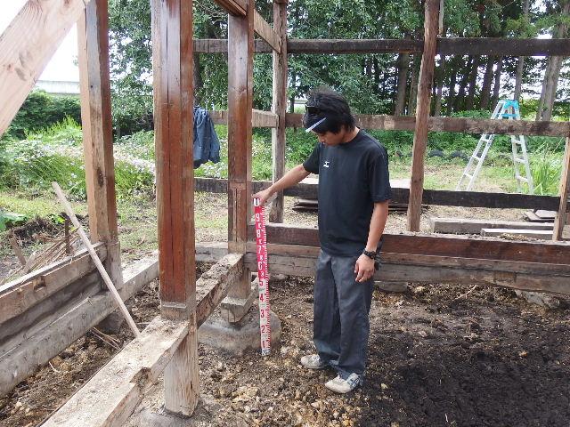 矢巾町 古民家改修工事 解体工事進行中。_f0105112_6152210.jpg