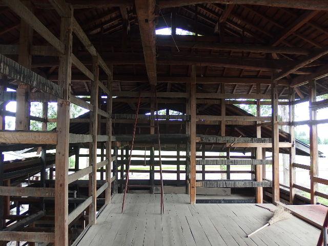 矢巾町 古民家改修工事 解体工事進行中。_f0105112_682713.jpg