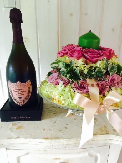 お誕生日プレゼント〜Dom Pérignon Rose 1998 _f0215324_01104119.jpg