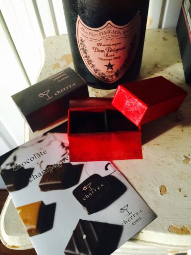 お誕生日プレゼント〜Dom Pérignon Rose 1998 _f0215324_01104134.jpg