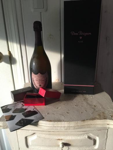 お誕生日プレゼント〜Dom Pérignon Rose 1998 _f0215324_01104159.jpg