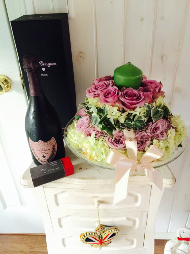 お誕生日プレゼント〜Dom Pérignon Rose 1998 _f0215324_01104334.jpg