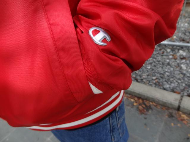 CHAMPION Stadium Jacket!!!_a0221253_20444352.jpg