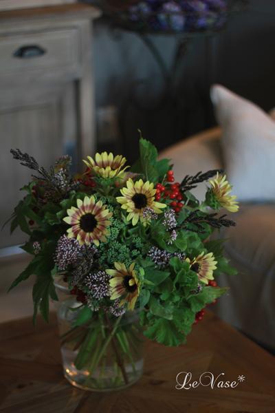 9月のLiving Flowerレッスン_e0158653_055027.jpg