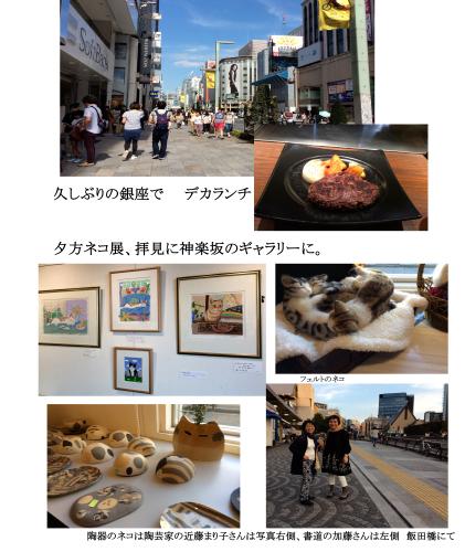 久しぶりの銀座と神楽坂_e0109554_09420334.jpg
