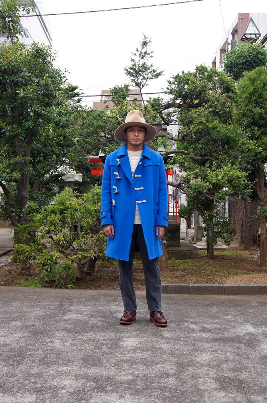 NAISSANCE - 2015 A/W Blue Duffle Coat!!_f0020773_19114399.jpg