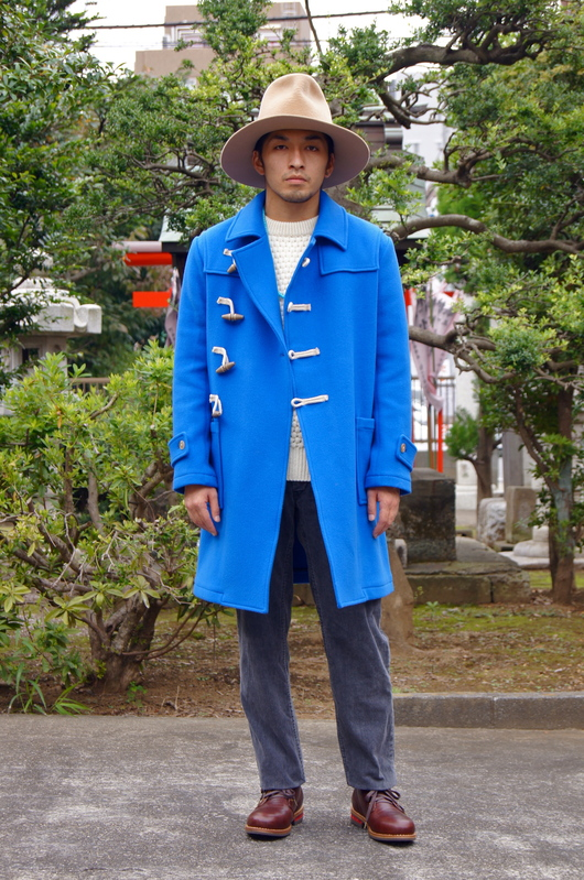 NAISSANCE - 2015 A/W Blue Duffle Coat!!_f0020773_19122078.jpg