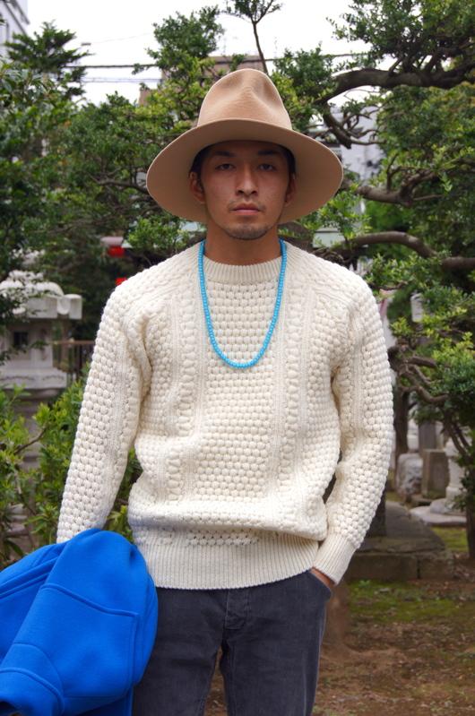 NAISSANCE - 2015 A/W Blue Duffle Coat!!_f0020773_19132383.jpg