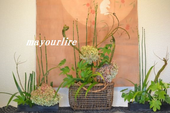 9月 テーブルコーディネート マユールライラ 海吉教室_d0169179_22145460.jpg