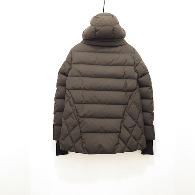 HERNO LAMINAR GORE WIND STOPPER A-LINE DOWN JACKET CHARCOAL GREY_f0111683_19373129.jpg
