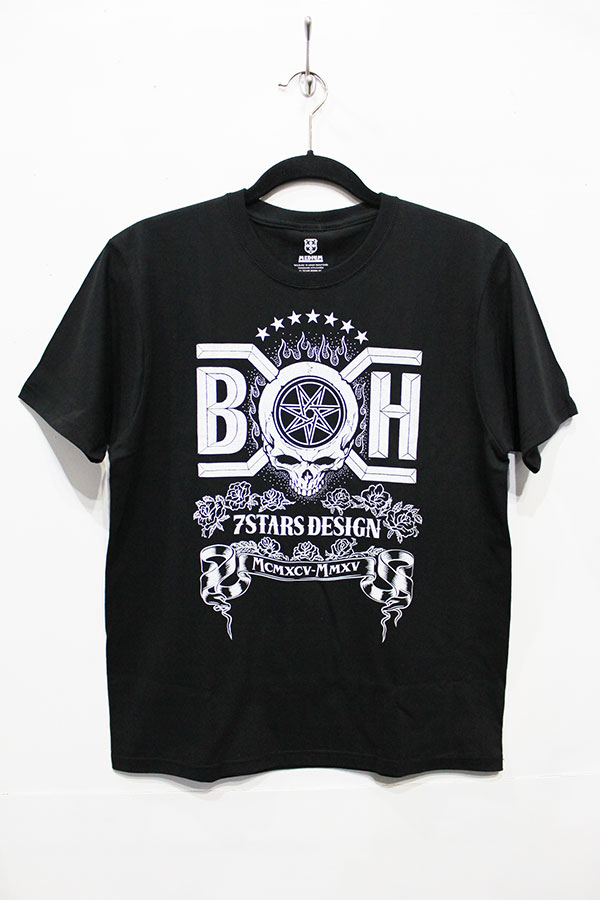 【7STARS DESIGN×BOUNTY HUNTER 20thコラボtee】再入荷!_a0097901_14561351.jpg