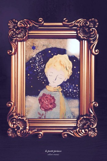 「~わたしの星の王子さま~ 」 展  ☆ 9/21~27_c0203401_22411912.jpg