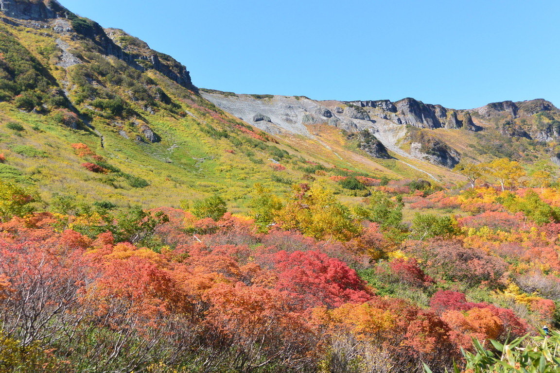 "2015年9月『錦織りなす大雪山』  September 2015 ""Autumn Colour in Taisetsu Mountains\"" _c0219616_7541087.jpg"