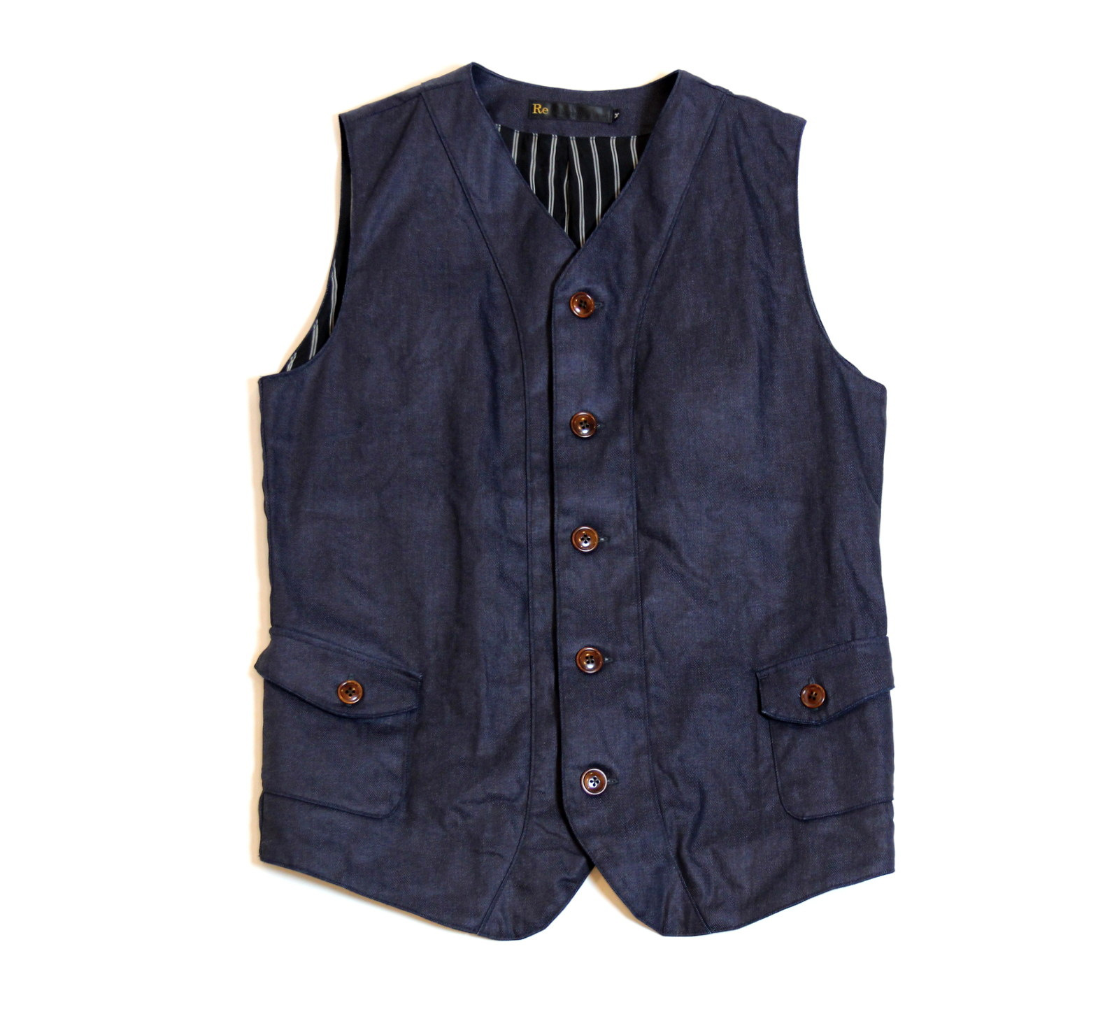 Dress Denim Tailor Vest_e0142928_1928182.jpg
