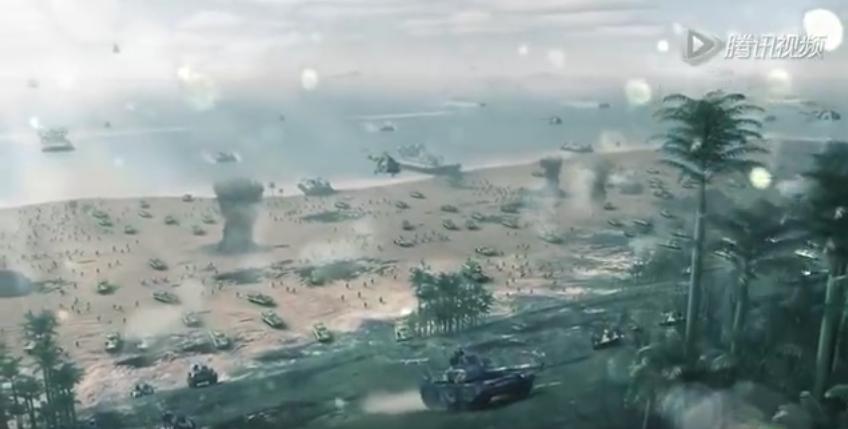 中国軍が日米同盟軍を撃破〜沖縄占領する衝撃の動画_b0221143_16410145.png