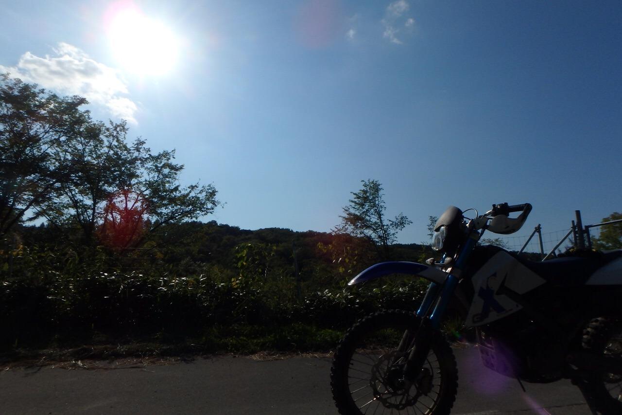 【チャレンジ】やっぱ林道は楽しいねツーリング_e0159646_644329.jpg