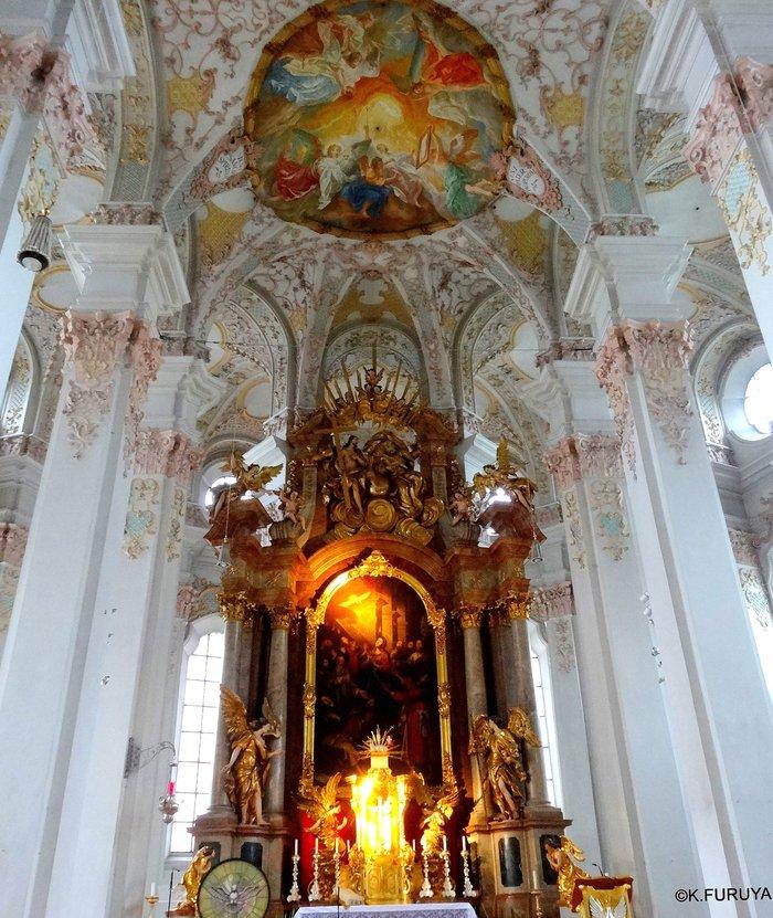 ドイツ9日間の旅 7 ミュンヘン旧市街の教会_a0092659_20211230.jpg