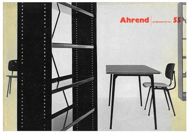 """Friso Kramer Table & Revolt Chair -  Ahrend 55 P80 / vintage Ad\""ってこんなこと。_c0140560_10523525.jpg"