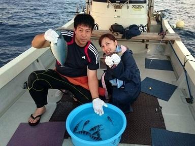 ケラマファンダイビングとボートフィッシング釣果報告!!_a0156273_08302515.jpg