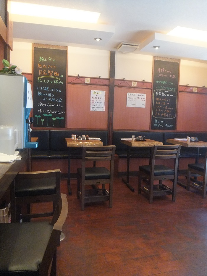 ◆うどん屋 麺之介 大阪店  ~でっかい「ちくわ天」~_f0238779_7311868.jpg