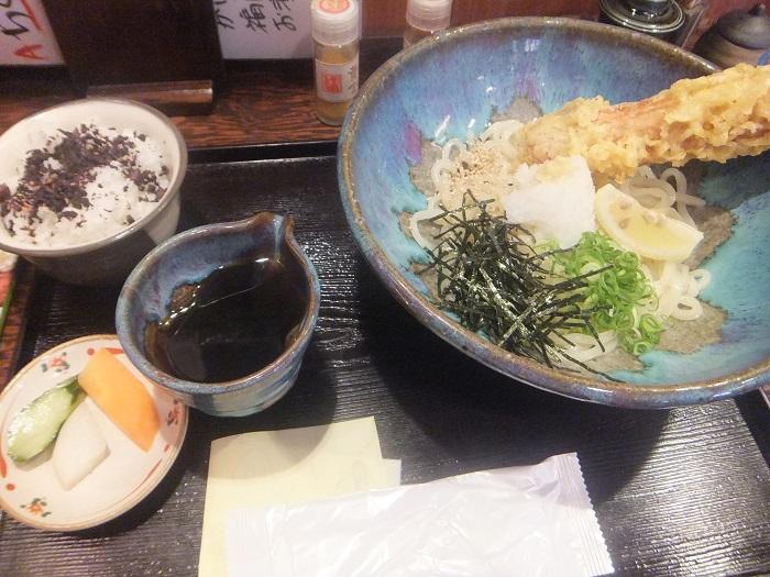 ◆うどん屋 麺之介 大阪店  ~でっかい「ちくわ天」~_f0238779_7325397.jpg