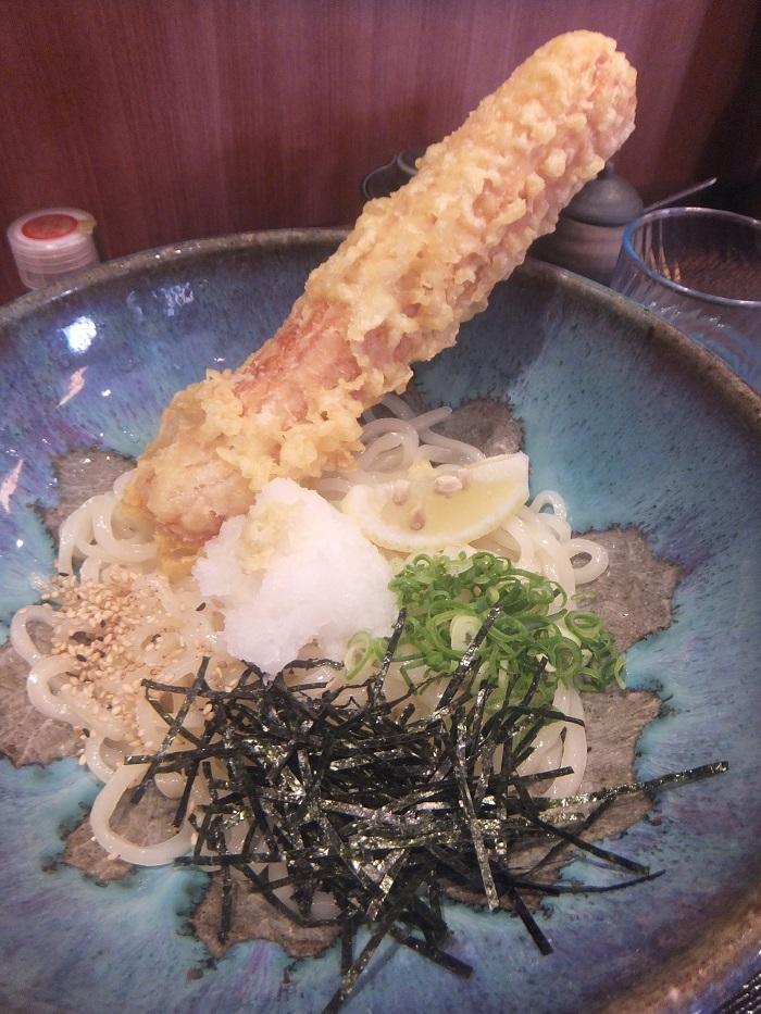 ◆うどん屋 麺之介 大阪店  ~でっかい「ちくわ天」~_f0238779_733544.jpg