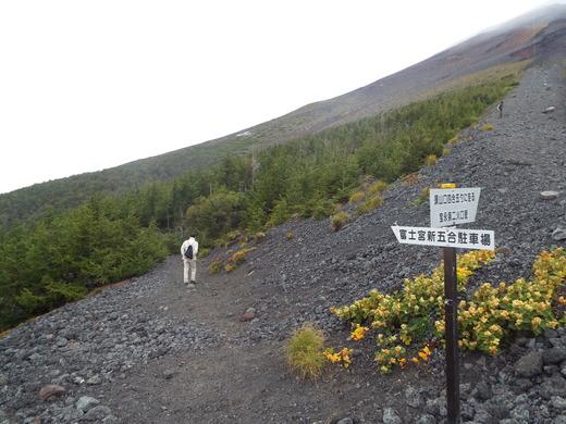 9月16日 富士山・宝永山火口の下見_e0145782_610306.jpg