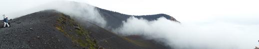 9月16日 富士山・宝永山火口の下見_e0145782_623730.jpg