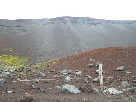 9月16日 富士山・宝永山火口の下見_e0145782_652537.jpg