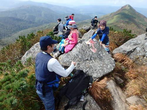 ホロホロ山と徳舜瞥山、9月22日-同行者からの写真-_f0138096_17583480.jpg