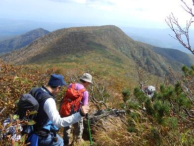 ホロホロ山と徳舜瞥山、9月22日-同行者からの写真-_f0138096_17592994.jpg