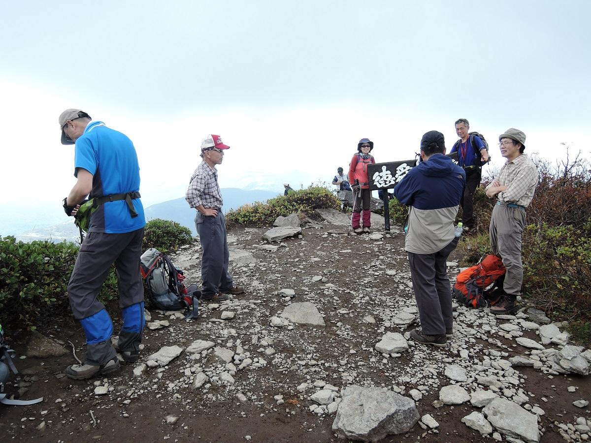 ホロホロ山と徳舜瞥山、9月22日-同行者からの写真-_f0138096_1802766.jpg
