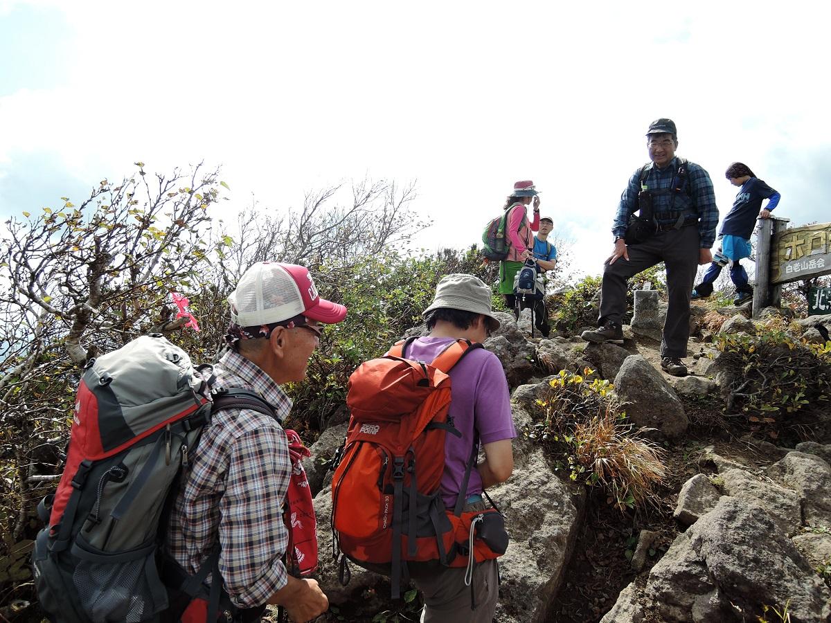 ホロホロ山と徳舜瞥山、9月22日-同行者からの写真-_f0138096_1803753.jpg