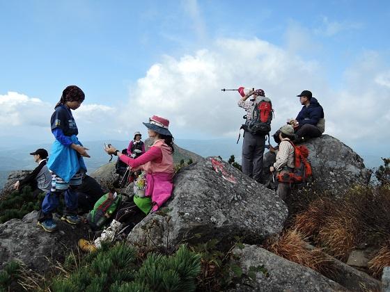ホロホロ山と徳舜瞥山、9月22日-同行者からの写真-_f0138096_1805529.jpg