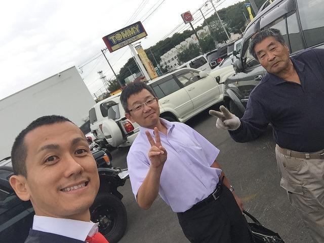 9月26日 店長のニコニコブログ!!78プラド、アルファード御成約☆_b0127002_211873.jpg