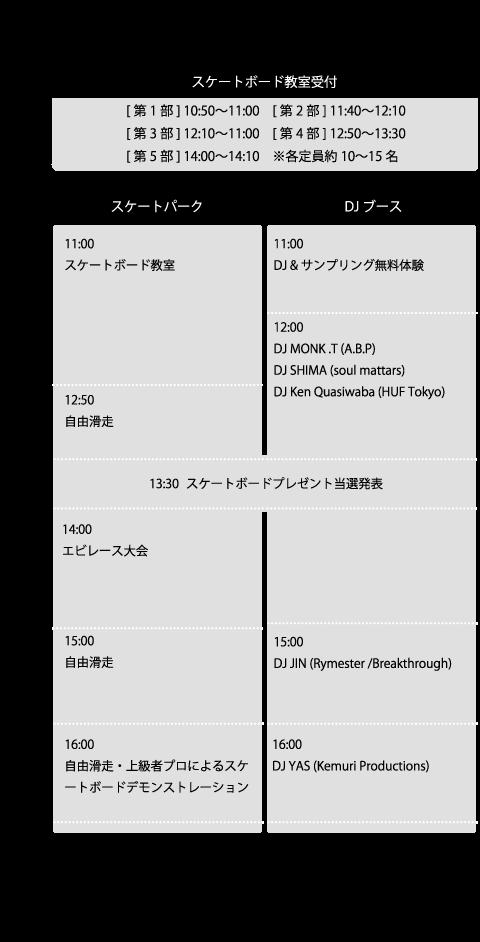 【10/11/Sun】NAKANO Beat Park(中野にぎわいフェスタ2015)【中野駅北口暫定広場(中野)】_c0124616_18264569.png