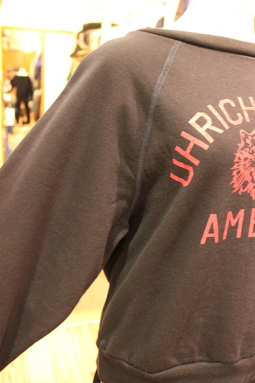 "Americana \""OVER SIZE SWEAT CREW & SWEAT PARKA\"" ご紹介_f0191324_939438.jpg"