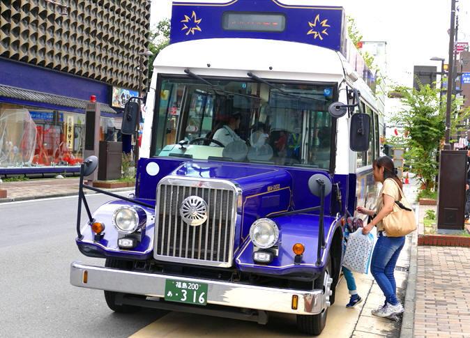 福島市福島駅東口前 「バスまつり」_d0106628_20250214.jpg