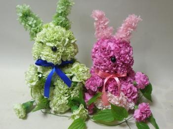 ウサギのカップル_e0170461_11592944.jpg