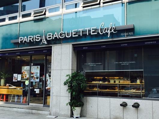 ソウルのパン屋さん パリバケット&パリクロワッサン_b0060363_21313846.jpg