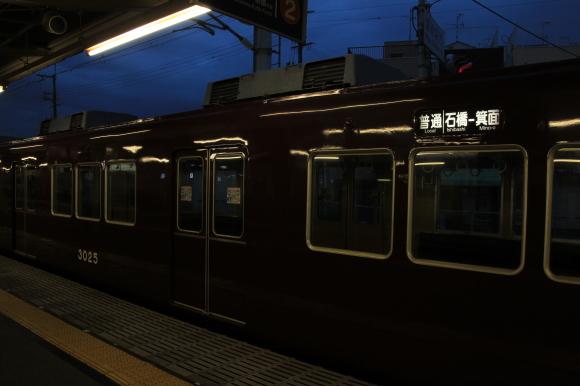 阪急3074F  まもなく一日のスタート_d0202264_05504615.jpg