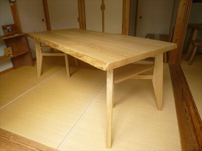 クリの木 テーブル_d0165772_20345674.jpg