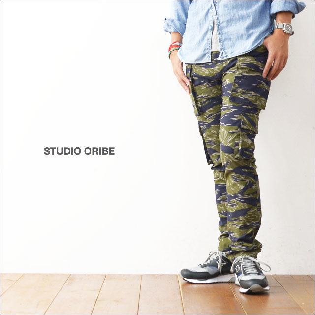 STUDIO ORIBE [スタジオオリベ] 8 POCKET PANTS TIGER [MEN\'S]_f0051306_21310025.jpg