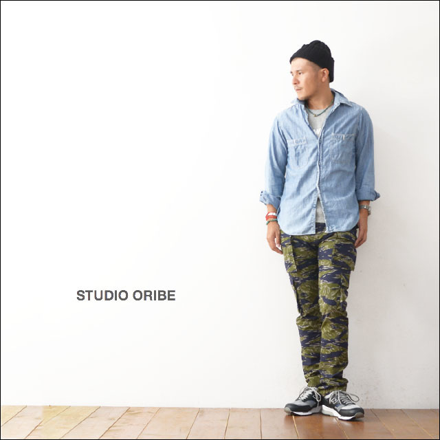 STUDIO ORIBE [スタジオオリベ] 8 POCKET PANTS TIGER [MEN\'S]_f0051306_21310079.jpg