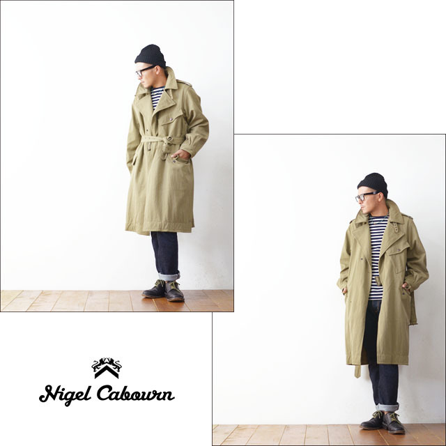 Nigel Cabourn [ナイジェル ケーボン] WW1 TRENCH COAT [80100000022]  MEN\'S_f0051306_22012255.jpg
