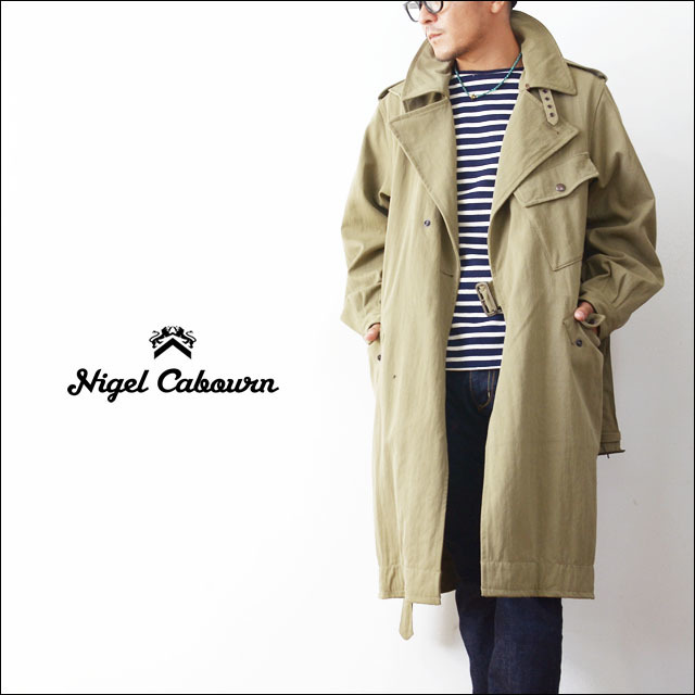 Nigel Cabourn [ナイジェル ケーボン] WW1 TRENCH COAT [80100000022]  MEN\'S_f0051306_22012282.jpg