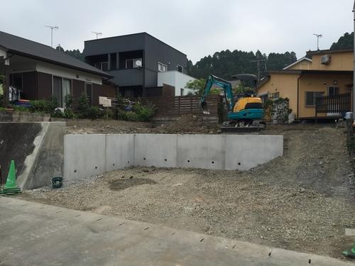 宮崎市K様邸新築造成工事_b0236217_12133897.jpg