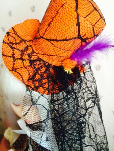 ブライス用のハロウィンの帽子をダイソーさんでゲット_a0275527_10001694.jpg