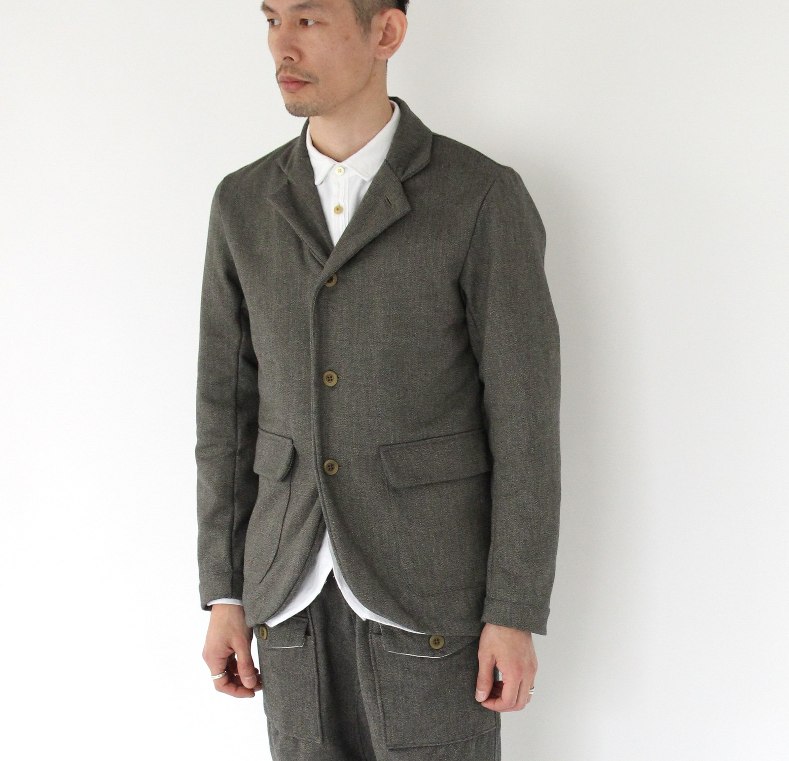 Wool Nel Chambray 4B Jacket_e0142928_1752288.jpg